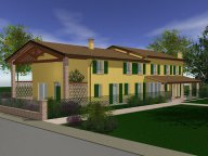 Casa a 3 alloggi con duplex tipo A