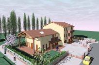 Edificio a 4 alloggi con duplex