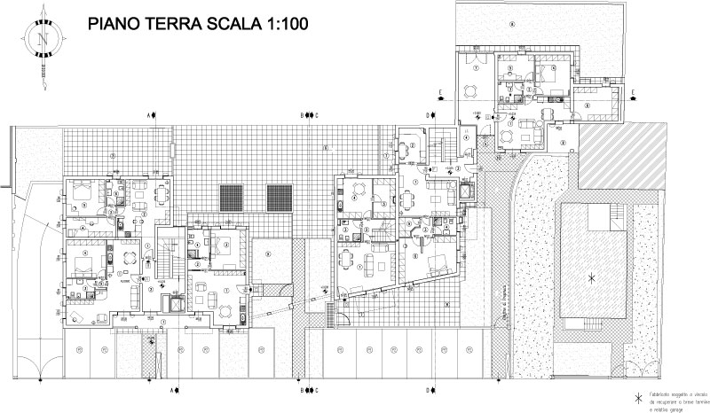 Residenze bernardino loschi dr gaetano zanoli for Software di piano terra residenziale