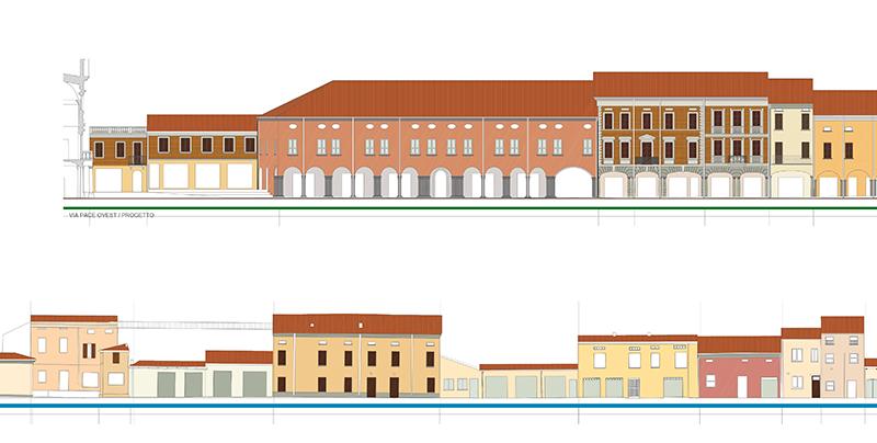 Piano del colore del centro storico di concordia s secchia for Piani del centro di intrattenimento della fattoria