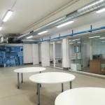 Ristrutturazione di ex-capannone artigianale ad uso centro di formazione, laboratori, uffici e residenza protetta
